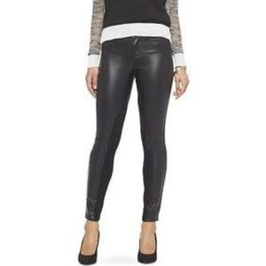 MOSSIMO NWT Faux Leather Skinny Pants Black 10